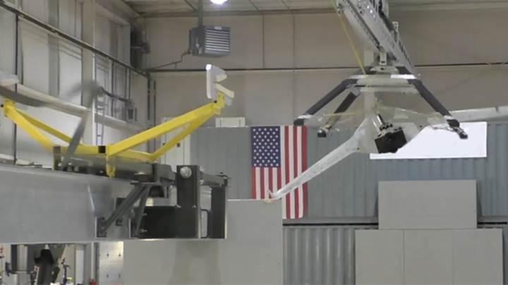 SideArm teknolojisi insansız hava araçlarını havada yakalayarak yere indirecek