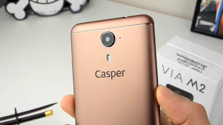 Casper VIA M2 incelemesi 'Yekpare metal, bronz metalik rengiyle buluştu'