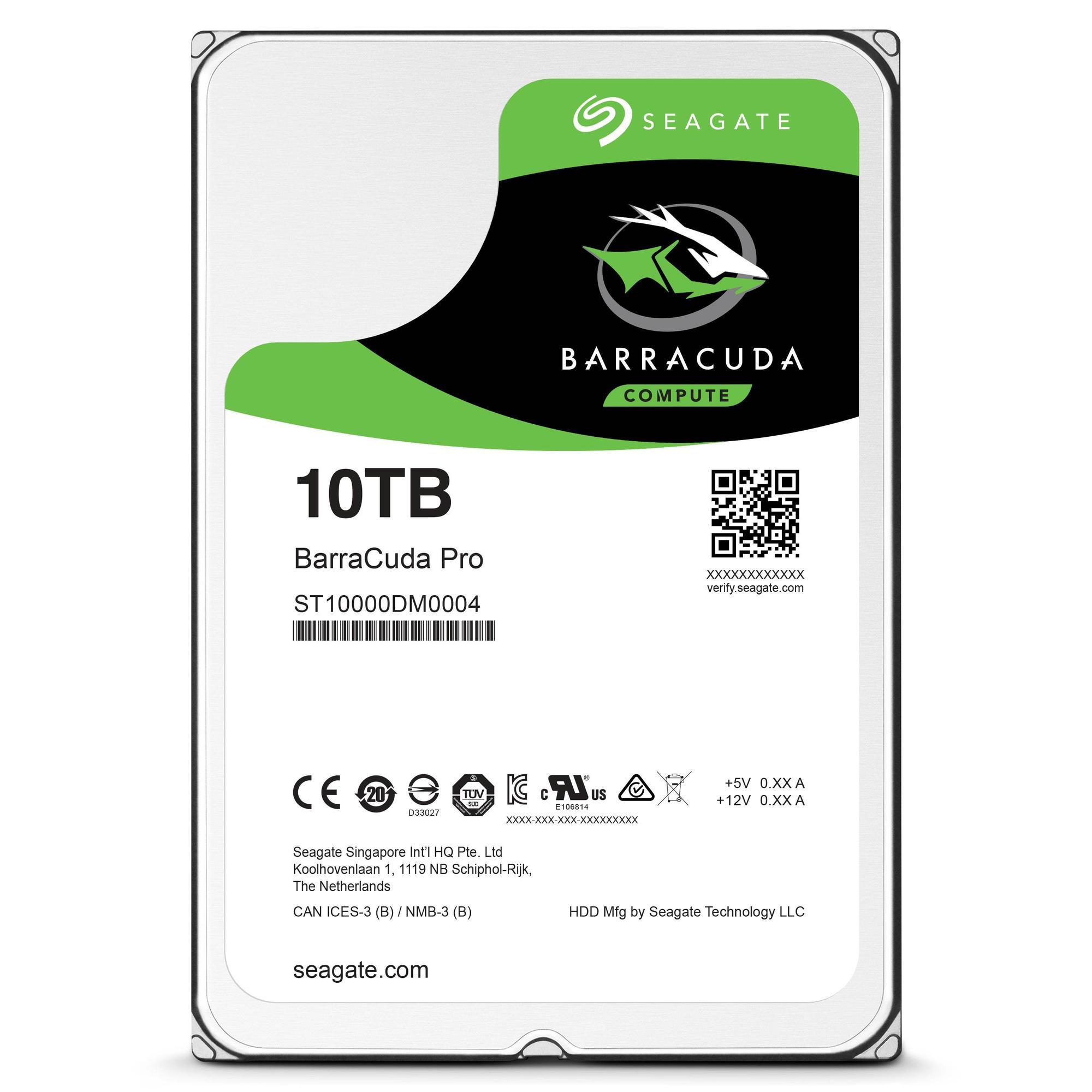 Seagate, 10TB kapasiteli sabit disklerini satışa sundu