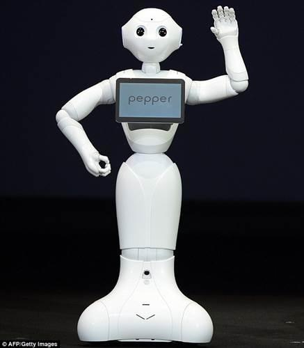 SoftBank'ın insansı robotu ABD'de ilk işine başladı