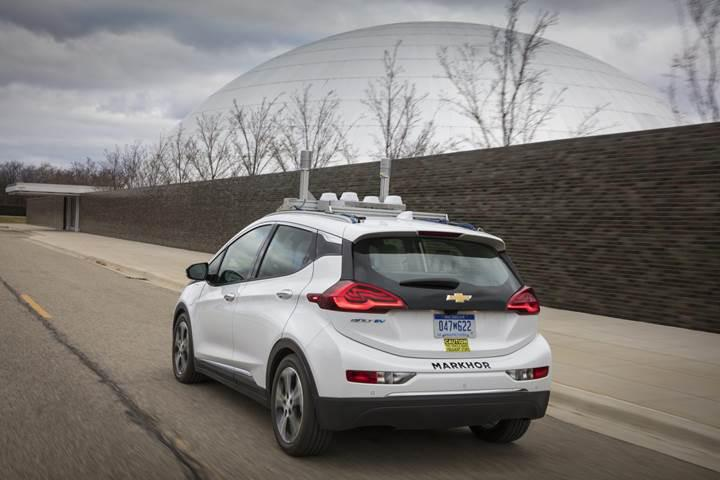 General Motors'tan etkileyici otonom sürüş videosu