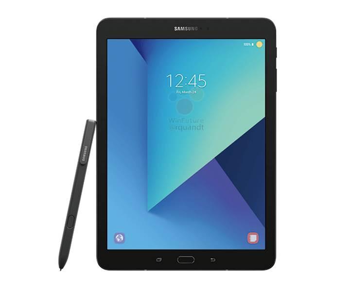 Samsung Galaxy Tab S3 için yeni bir görsel sızdırıldı
