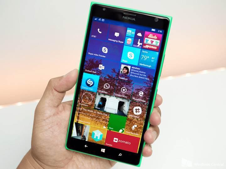 Windows 10 Mobile'daki açık, şifre girmeden fotoğraf galerisine erişim izni veriyor