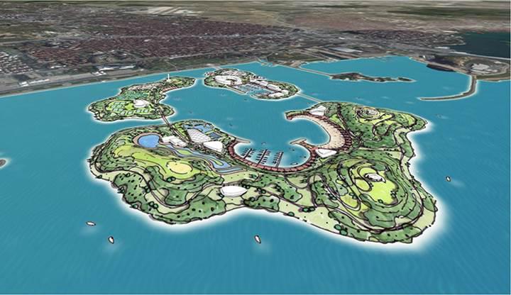 İstanbul'a üç yeni ada kuruluyor: Proje görücüye çıktı
