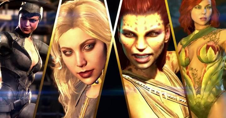 Injustice 2'ye tam 7 adet yeni karakter eklendi
