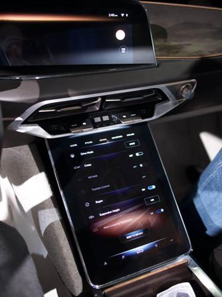 Lucid Air sürüş modu ayarlarında oldukça ilgi çekici bazı seçenekler sunuyor