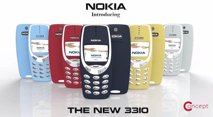 Modern Nokia 3310 nasıl görünecek?