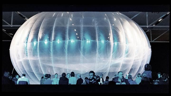 Google, internet sağlayan balonlarını test etmeye başlayacak