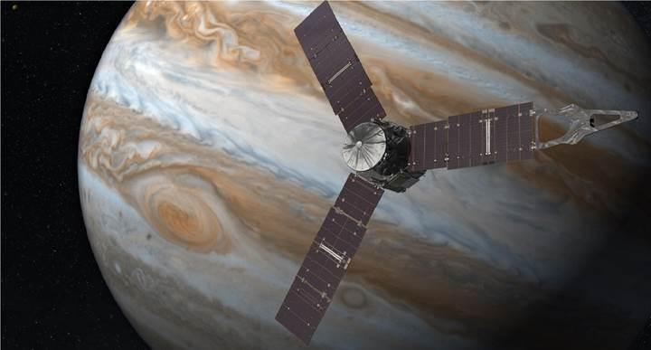 Juno uzay aracı, motorundaki sorundan ötürü Jüpiter'e yaklaşmayacak