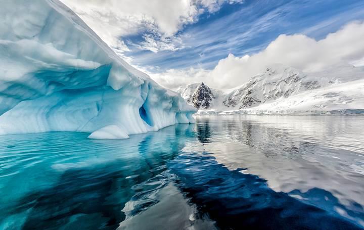 Antarktika buz tabakası, küresel ısınmadan dolayı hızlı bir şekilde eriyor