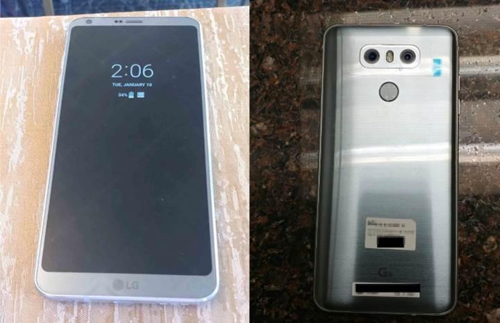 LG G6'nın özellikleri ve yeni fotoğrafları paylaşıldı