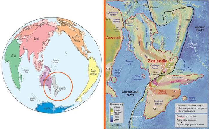 Pasifik Okyanusu'nda Dünya'nın sekizinci kıtası keşfedildi!