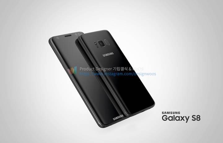 Galaxy S8 ve S8+ tasarım çalışmaları paylaşıldı