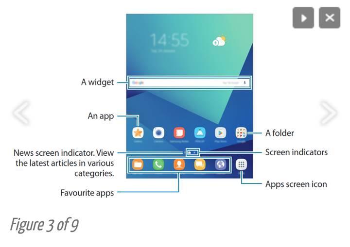 Samsung Galaxy Tab S3'ün el kitapçığının sızdırılması tableti açığa çıkardı