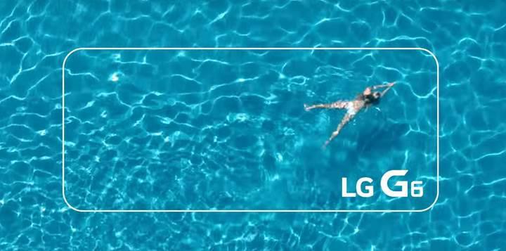 LG G6'nın suya ve toza dayanıklı olacağını gösteren tanıtım videoları yayınlandı