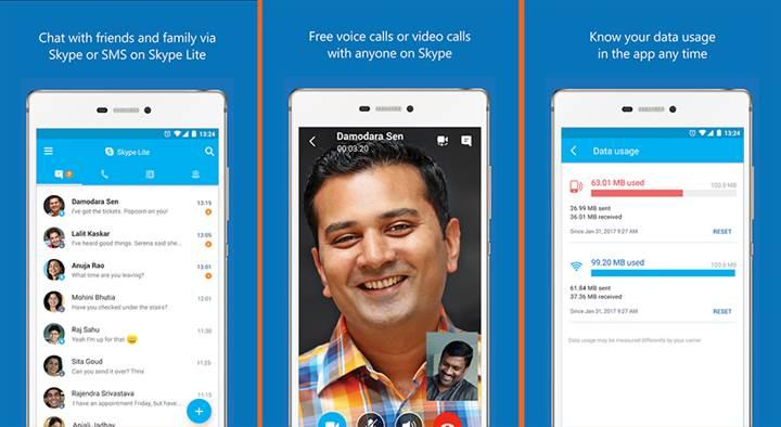 Skype, internet bağlantısı yavaş olan kullanıcılar için