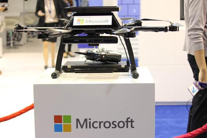 Microsoft'tan drone ve uçan arabalar için gerçek zamanlı haritalara yatırım