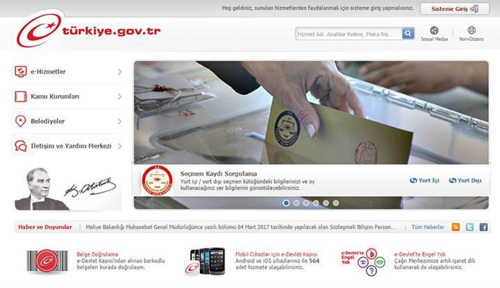 e-Devlet üzerinden alınan nüfus belgeleri artık hukuken geçerli sayılacak