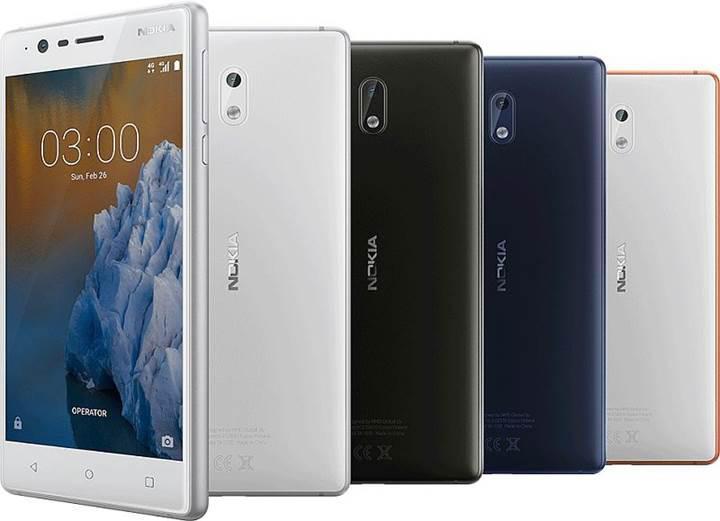 HMD Global resmi olarak Nokia 3 ve Nokia 5'i duyurdu
