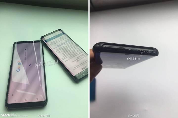 Samsung Galaxy S8 ve S8+ modellerini gösteren video sızdırıldı