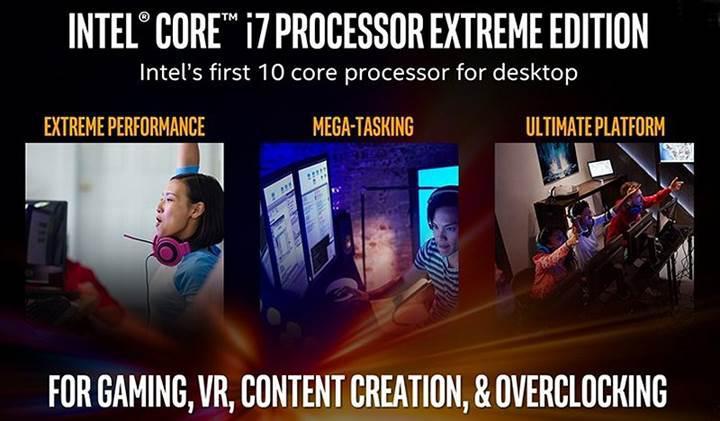 Intel, 12 çekirdekli Skylake-X silahını piyasaya sürüyor