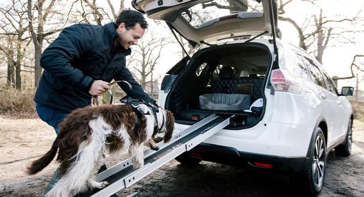 Nissan, köpek sahiplerine özel X-Trail konseptini tanıttı