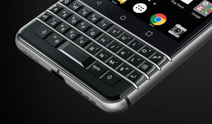 BlackBerry KEYone resmi olarak tanıtıldı