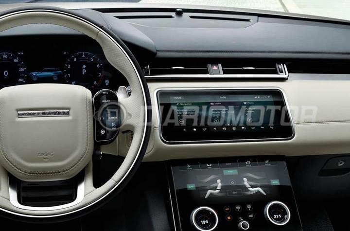 Range Rover ailesinin yeni üyesi Velar'ın görselleri sızdırıldı