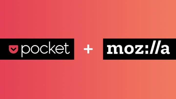 Mozilla, bir dönemin popüler uygulaması Pocket'ı satın aldı