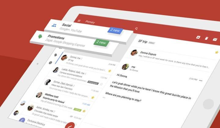 Gmail'de e-posta sınırı 50MB'a yükseltildi
