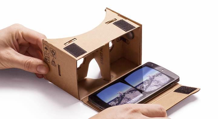 10 milyon Google Cardboard gözlüğü satıldı