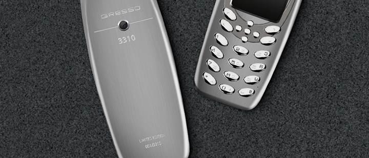 Şimdi de titanyum Nokia 3310 geliyor