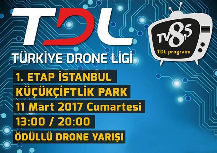 Türkiye'nin ilk 'Drone Ligi' bu hafta sonu başlıyor