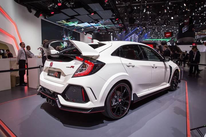 320 BG güce sahip yeni Honda Civic Type R artık resmi