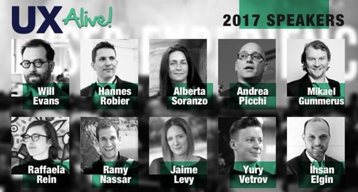 Türkiye'nin en kapsamlı kullanıcı deneyimi konferansı: UX Alive