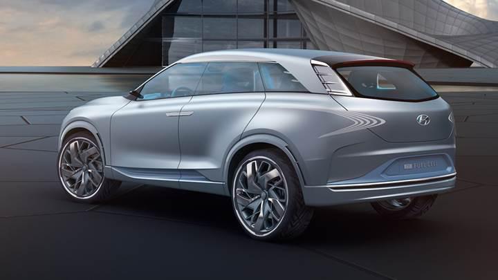 Hyundai FE Fuel Cell Concept, Cenevre Otomobil Fuarı'nda tanıtıldı