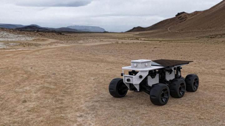 İnsanlardan kaçan asosyal robot