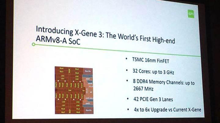 Macom X-Gene 3: En güçlü ARM işlemci ile tanışın