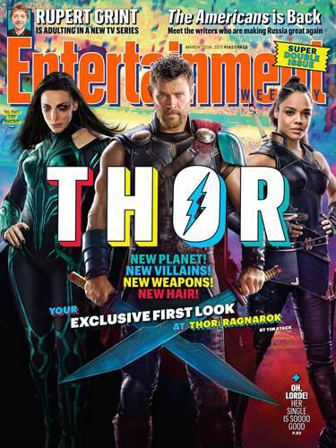 Thor: Ragnarok set fotoğrafları geldi: İkonik saçlara elveda