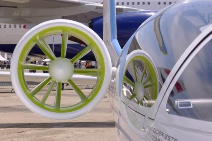 Elektrikli uçak motoru prototipi test edilecek