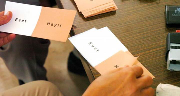 Referandum için seçmen listeleri ilan edildi: Nerede oy kullanacaksınız?