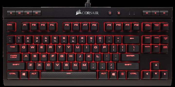 Corsair'den yeni Tenkeyless K63 mekanik klavye
