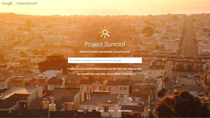 Google verilerine göre ABD'deki evlerin yüzde 79'u güneş panellerine uygun