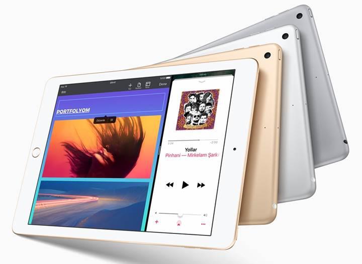 Apple, 9.7inçlik iPad'i A9 işlemci seçeneği ile güncelledi