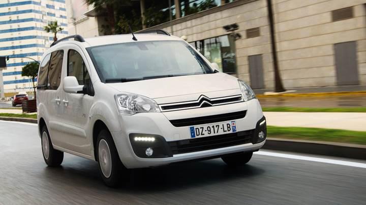 Citroen'den elektrikli ticari araç: E-Berlingo Multispace