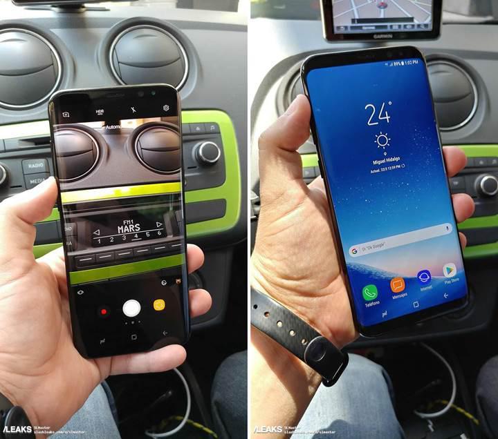 Samsung Galaxy S8 ve Galaxy S8+ yeni fotoğraflarla sızdı