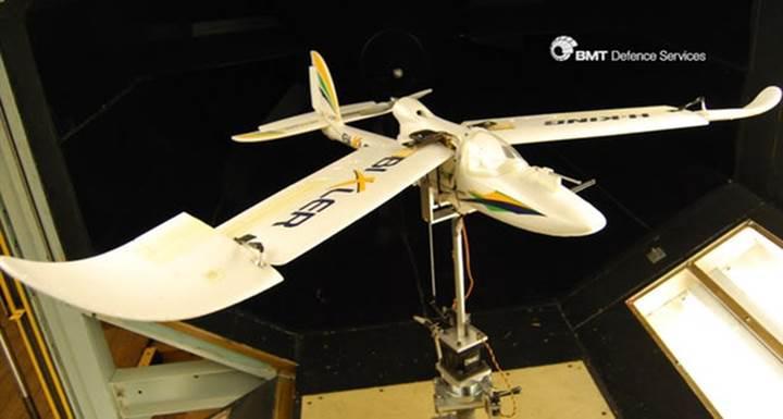 Kuş gibi iniş yapan insansız hava aracı
