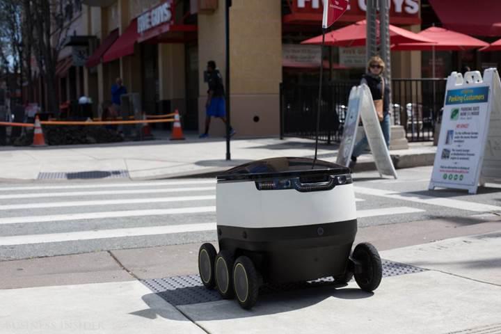 Teslimat robotu Silikon Vadisi'nde işbaşı yaptı