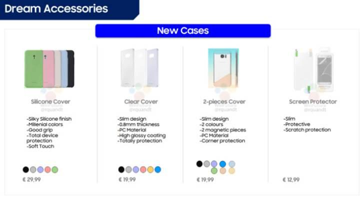 Samsung Galaxy S8′in aksesuar fiyatları belli oldu