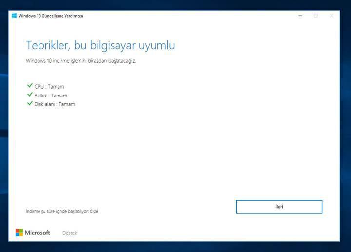 Windows 10 Creators Update'i şimdi bilgisayarınıza yükleyebilirsiniz! [Güncellendi]